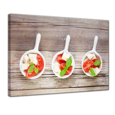 Leinwandbild - Italienischer Salat – Bild 1