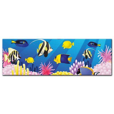 Leinwandbild - Kinderbild - Unterwasser Tiere II – Bild 5