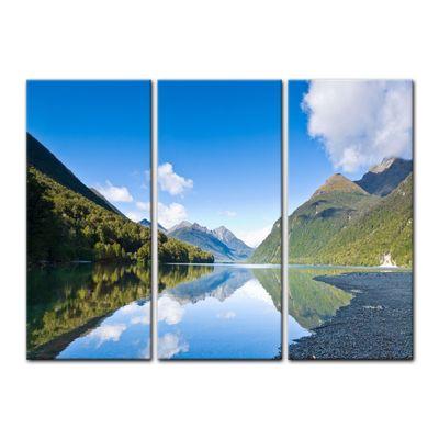 Leinwandbild - Lake Gunn - Neuseeland – Bild 7
