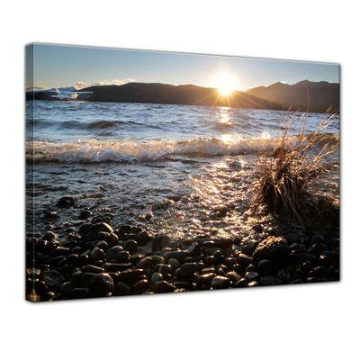 Leinwandbild - Lake Te Anau - Neuseeland – Bild 1