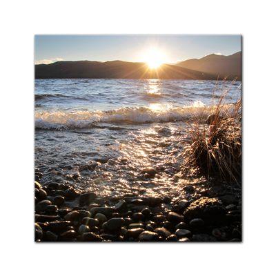 Leinwandbild - Lake Te Anau - Neuseeland – Bild 2