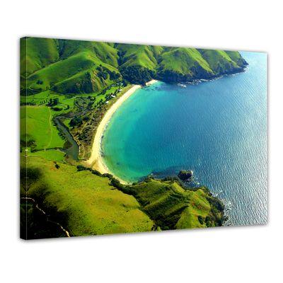 Leinwandbild - Taupo Bucht - Neuseeland – Bild 1