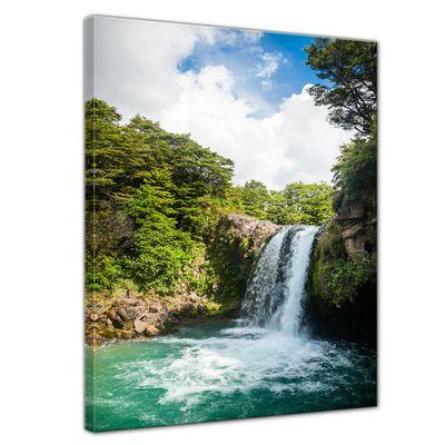 Leinwandbild - Tawhai Falls - Neuseeland