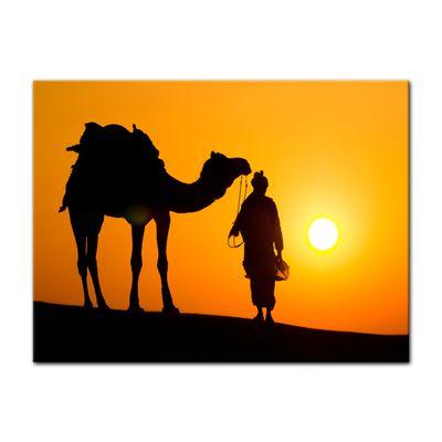 Leinwandbild - Thar Wüste - Indien – Bild 4