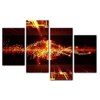 Leinwandbild - Abstrakte Kunst LI  – Bild 11