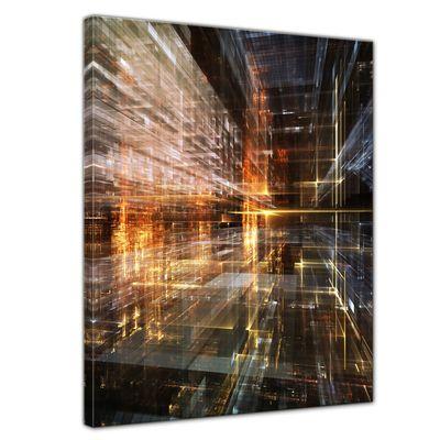 Leinwandbild - Abstrakte Kunst LVI  – Bild 1