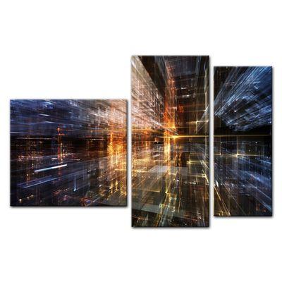 Leinwandbild - Abstrakte Kunst LVI  – Bild 13