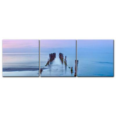Leinwandbild - Alter Pier - Lettland – Bild 7