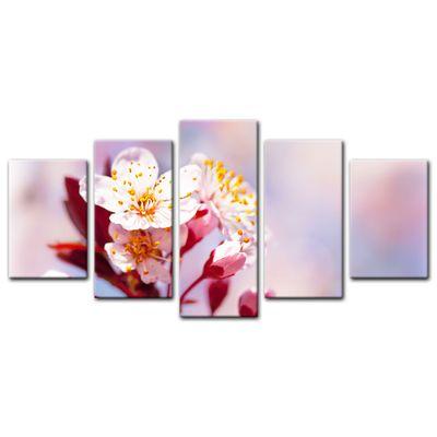 Leinwandbild - Apfelblüten – Bild 3