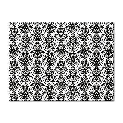 Leinwandbild - Florales Muster Tapete  – Bild 3