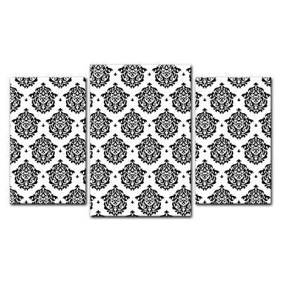 Leinwandbild - Florales Muster Tapete II  – Bild 10