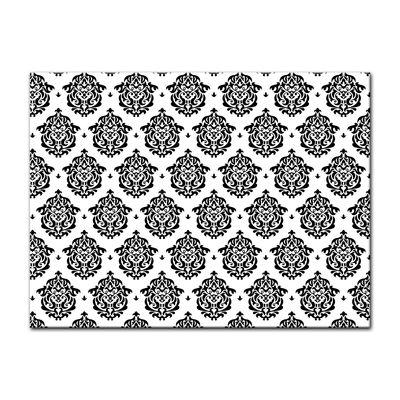 Leinwandbild - Florales Muster Tapete II  – Bild 3