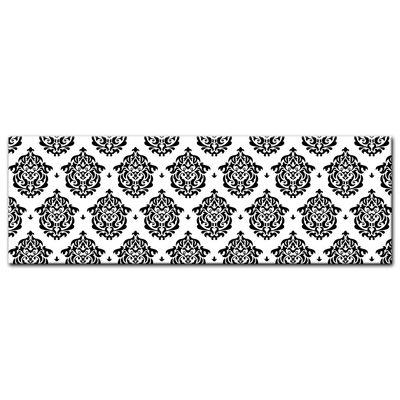 Leinwandbild - Florales Muster Tapete II  – Bild 5