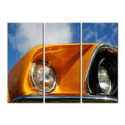 Leinwandbild - Ford Mustang - orange – Bild 13