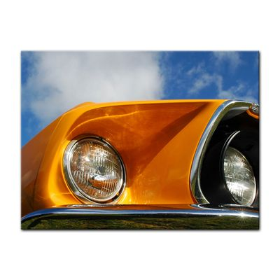 Leinwandbild - Ford Mustang - orange – Bild 10