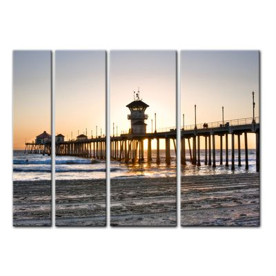 Leinwandbild - Huntington Beach - Kalifornien – Bild 14