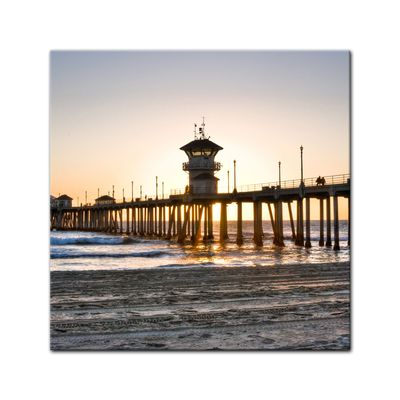 Leinwandbild - Huntington Beach - Kalifornien – Bild 2