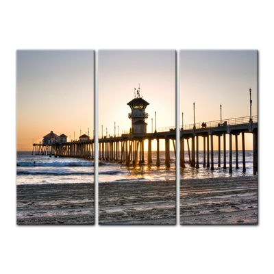 Leinwandbild - Huntington Beach - Kalifornien – Bild 8