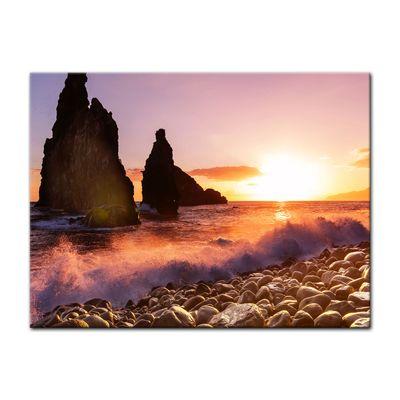 Leinwandbild - Küste von Madeira II – Bild 3