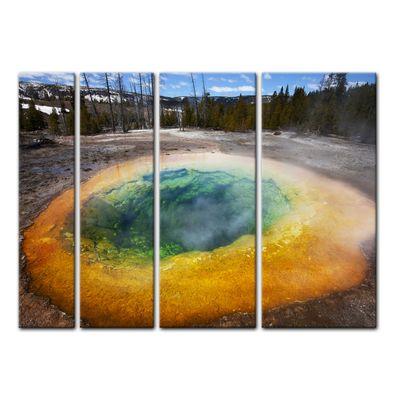 Leinwandbild - Morning Glory Pool – Bild 14