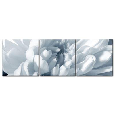 Leinwandbild - Weisse Chrysanteme – Bild 12