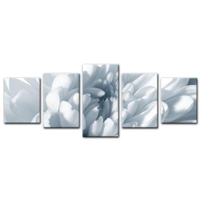 Leinwandbild - Weisse Chrysanteme – Bild 9
