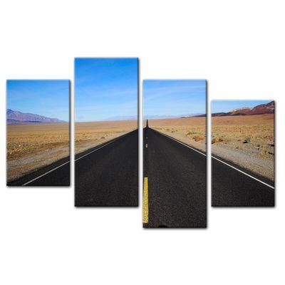 Leinwandbild - Wüstenstraße - Death Valley – Bild 11