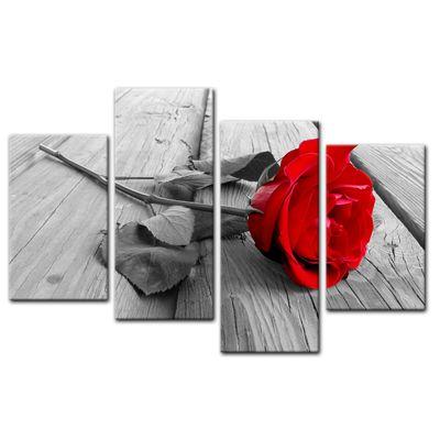 Leinwandbild - Rose Steg – Bild 5