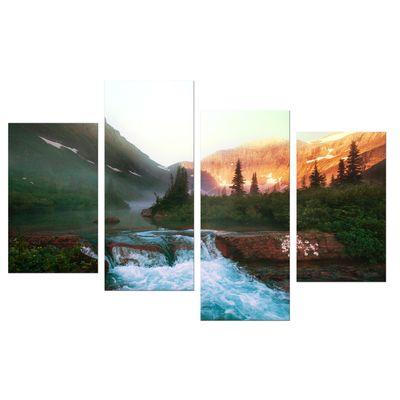 Leinwandbild - Glacier National Park, Montana - USA – Bild 8