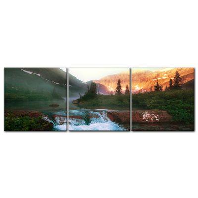 Leinwandbild - Glacier National Park, Montana - USA – Bild 4