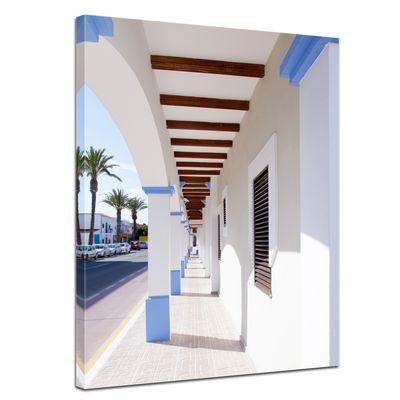 Leinwandbild - Lá Savina - Formentera – Spanien