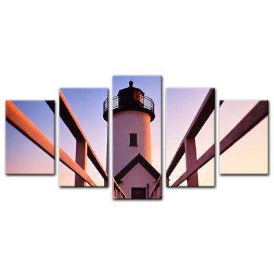 Leinwandbild - Leuchtturm – Bild 9