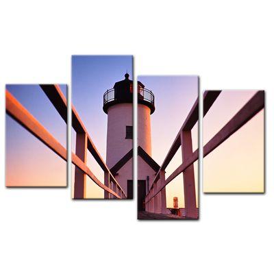 Leinwandbild - Leuchtturm – Bild 11