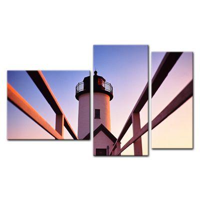 Leinwandbild - Leuchtturm – Bild 12