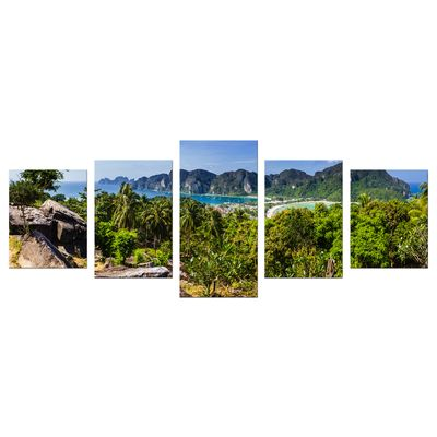 Leinwandbild - Blick auf Phi Phi Island - Thailand – Bild 10