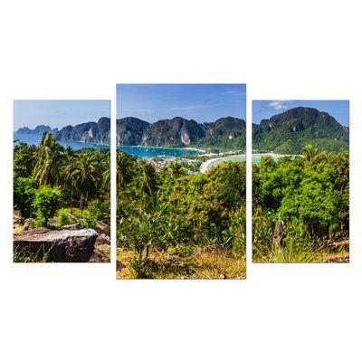 Leinwandbild - Blick auf Phi Phi Island - Thailand – Bild 7