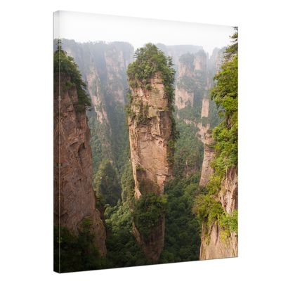 Leinwandbild - Berg in Zhangjiajie - China – Bild 1
