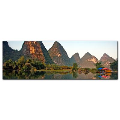 Leinwandbild - Beauty of Yangshuo Karst in Guilin, China – Bild 4