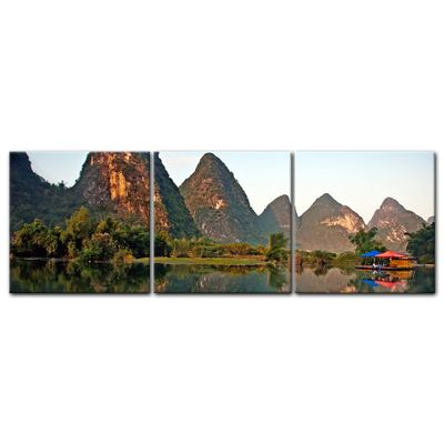Leinwandbild - Beauty of Yangshuo Karst in Guilin, China – Bild 5