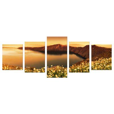 Leinwandbild - Sonnenaufgang über Santorini - Griechenland – Bild 11