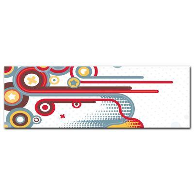 Leinwandbild - Abstrakt Retro Background II  – Bild 3