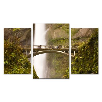 Leinwandbild - Multnomah Falls in Oregon - USA – Bild 6