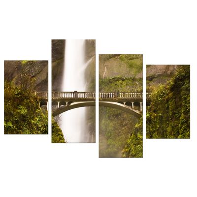 Leinwandbild - Multnomah Falls in Oregon - USA – Bild 7