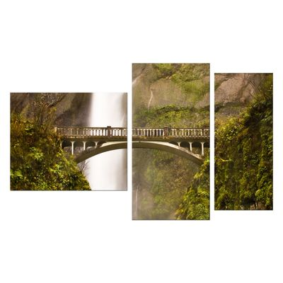 Leinwandbild - Multnomah Falls in Oregon - USA – Bild 8