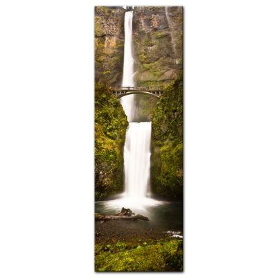 Leinwandbild - Multnomah Falls in Oregon - USA – Bild 3