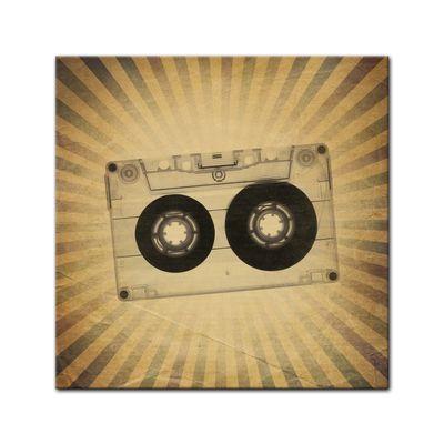 Leinwandbild - Music Old Paper Grunge Vintage II  – Bild 2