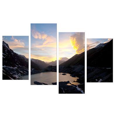 Leinwandbild - Naturphänomen im Kaukasus, Elbrus - Russland – Bild 9