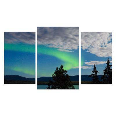 Leinwandbild - Nordlichter in Yukon - Kanada – Bild 8