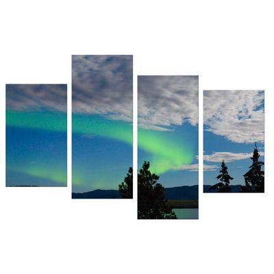 Leinwandbild - Nordlichter in Yukon - Kanada – Bild 9