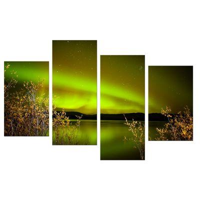 Leinwandbild - Nordlichter II in Yukon - Kanada – Bild 9